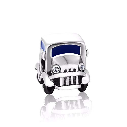 DIAN Jewellery - 925 Sterling Silber Schmuck Auto Charm Charm Bead passend für europäische Charm-Armbänder, Fahrprüfprüfung, Geburtstagsgeschenk, Charms für Armbänder