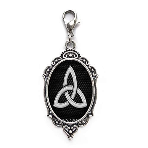 Yao0dianxku Celtic Zipper Pull~Trinity Zipper Pull~Celtic Triquetra Charm~Mens Celtic Jewelry~Womens Irish Zipper Pull.Y168