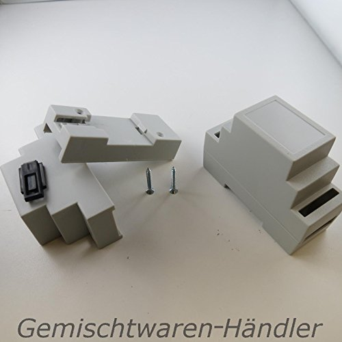 Unbekannt Hutschienengehäuse Gehäuse Dinschiene Hut Din Schiene 35mm x 88,8mm x 62,8mm ABS