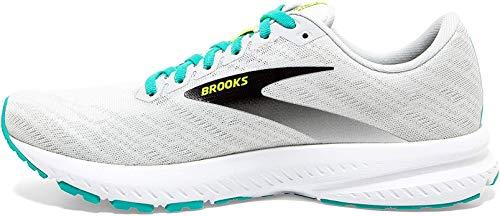 Brooks Launch 7, Zapatillas para Correr para Mujer, White Nightlife Atlantis, 37.5 EU