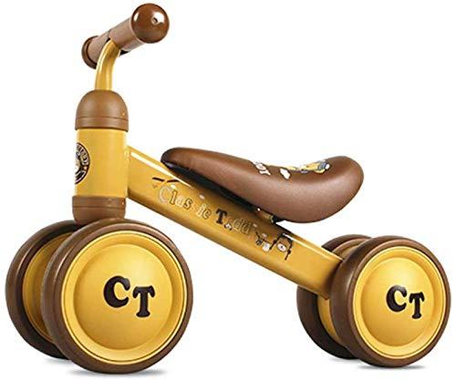 FEE-ZC Kid Veiligheid Baby Balance Bike Kinderen Walker Fiets Veilig Rijden Speelgoed voor 1-3 Jaar Oud Baby Geen Pedaal 4 wieler Peuter Eerste Fietsen