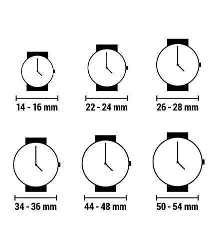 Michael Kors Reloj Analógico para Hombres de Cuarzo con Correa en Cuero