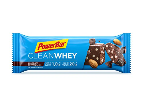 Powerbar - Clean Whey 1 x 60g Riegel Chocolate Brownie (6er Pack)