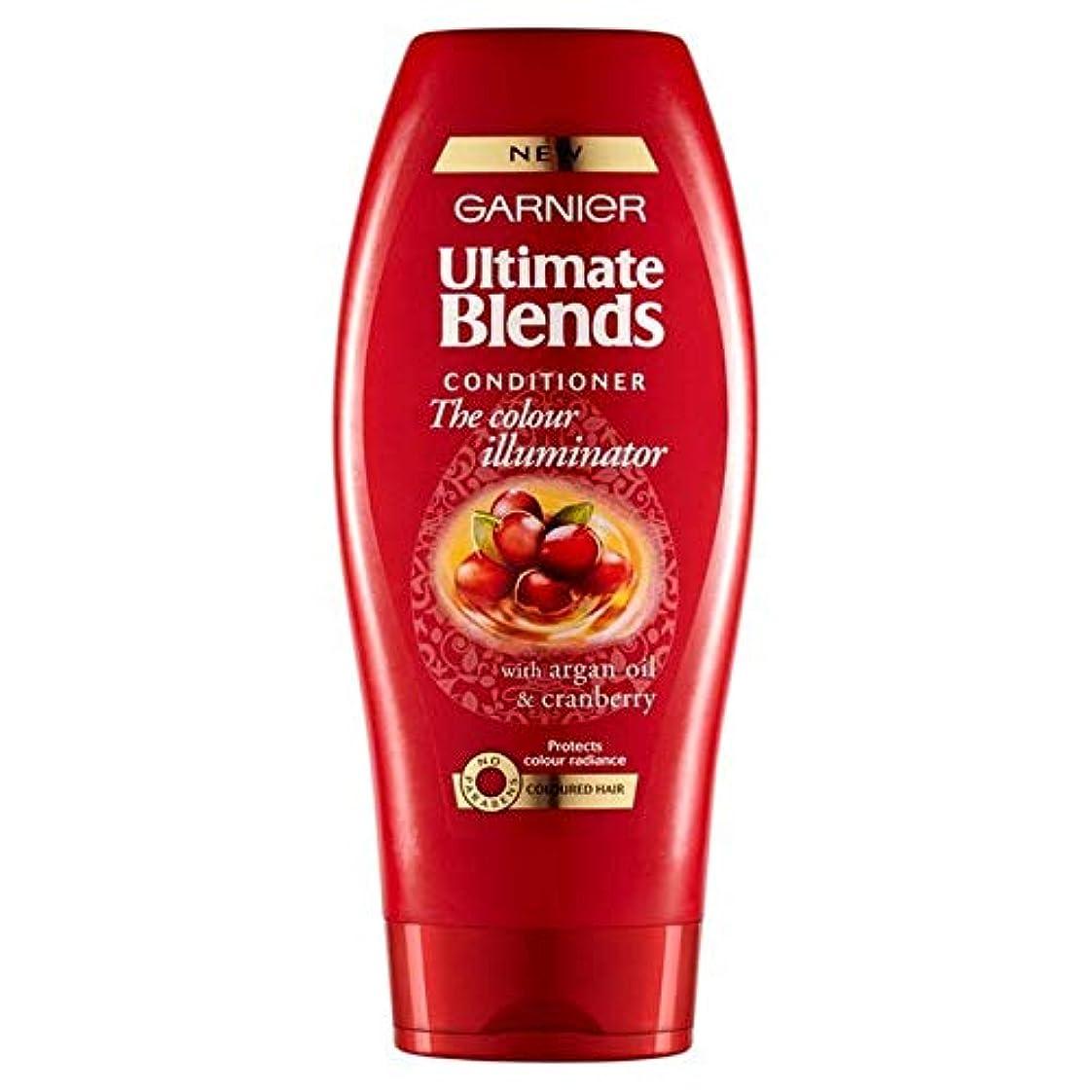 分トロリーバス禁止する[Garnier ] ガルニエ究極は、アルガンオイル色の髪のコンディショナー360ミリリットルをブレンド - Garnier Ultimate Blends Argan Oil Coloured Hair Conditioner 360ml [並行輸入品]