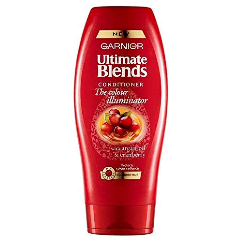 [Garnier ] ガルニエ究極は、アルガンオイル色の髪のコンディショナー360ミリリットルをブレンド - Garnier Ultimate Blends Argan Oil Coloured Hair Conditioner 360ml [並行輸入品]