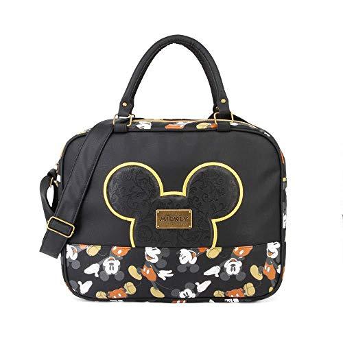 Karactermania Mickey Mouse True schoudertas, zwart, 37 cm