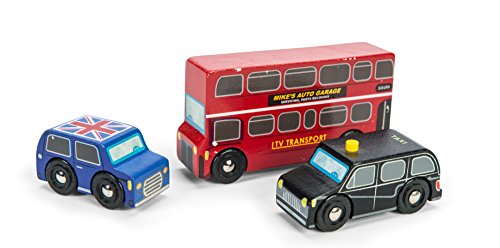 Le Toy Van Wooden Little London Themed Vehicle Set...