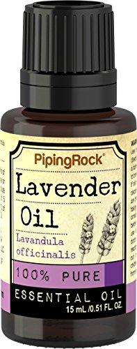 Piping Rock Lavender 100% Pure Essential Oil 1/2 oz (15 ml) Dropper Bottle Therapeutic Grade