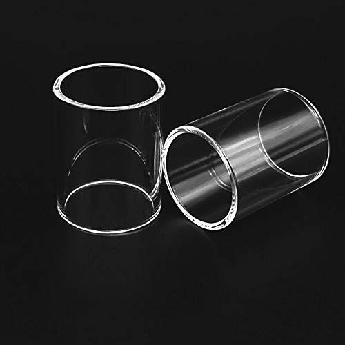 Denghui-ec 2 Stück 4 ml Ersatz Pyrex Glasrohr for IJOY Limitless XL-Behälter 4 ml Atomizer (Farbe : Klar)