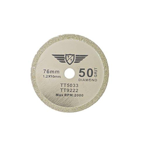 1 x TopsTools CS76D_1 76mm 10mm Bohrung Diamant Trinkgeld Sägeblätter für Worx WX424 WA5033 RW9228 310 HandyCut