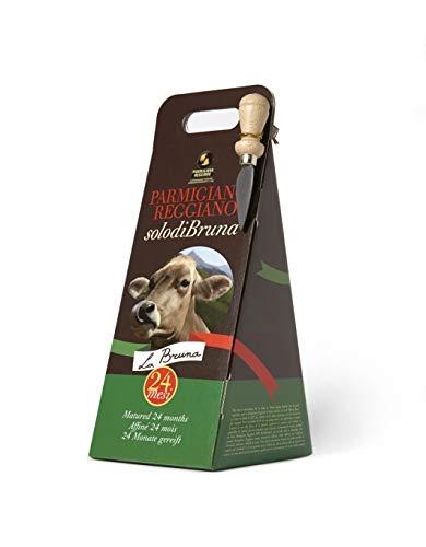 Confezione Regalo in Astuccio 'De-Luxe' Parmigiano Reggiano d.o.p. SOLO DI BRUNA 750 gr. extra 24 Mesi