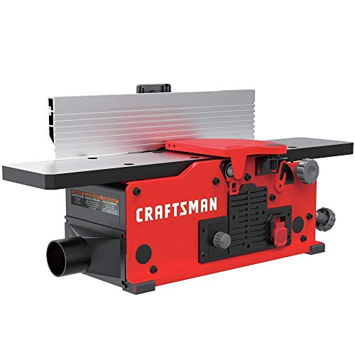 CRAFTSMAN Benchtop Jointer, 10-Amp (CMEW020) (Renewed)
