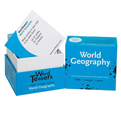 Word Teasers World Geography Card Game