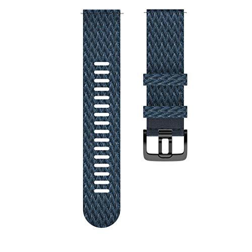 Polar Unisex– Erwachsene Wrist Band 22 mm Uhrenarmband, Blau, M/L