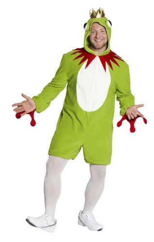 Rubie's Herren Kostüm Frosch Overall Froschkönig zu Karneval Fasching Gr.XL