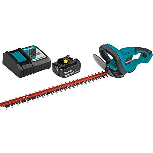 Makita XHU02M1 18V LXT Lithium-Ion Cordless (4.0Ah) 22' Hedge Trimmer Kit