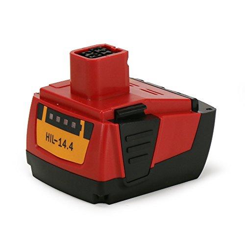 POWERAXIS 14,4V 3000mAh Li-ion Werkzeugakku für Hilti B144, SF144-A, SF 144-A CPC, SFH 144-A, SFH 144-A CPC, SFL Flashlight