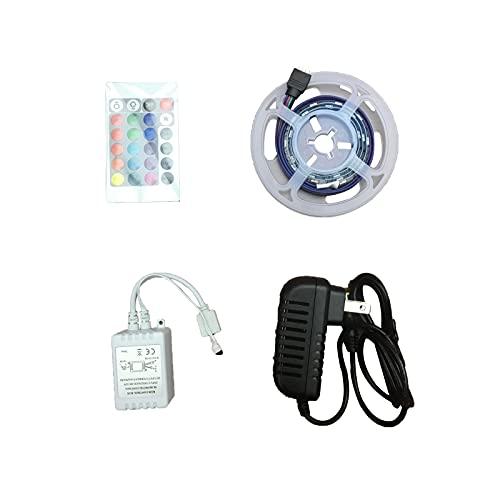 WERSMT LED TV Stand Entertainment Center Color Changing LED Strip Lights, RGB LED Lights for TV Stand, Bedroom, Room, Kitchen, Party, Home