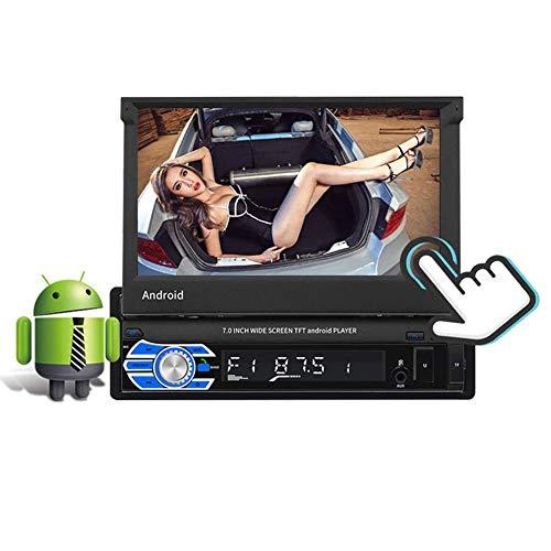 FDSAD Android 8.1 del Coche DVD de la Pantalla táctil de 7 Pulgadas GPS Navigation SystemDouble DIN con Reproductor de Radio del GPS WiFi