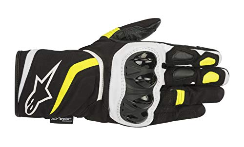Alpinestars Gants moto T-sp W Drystar Gloves Black Yellow Fluo, Noir/Blanc/Fluo, 3XL