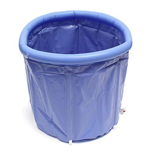 feilai Suministros de viaje Bañera inflable portátil de plástico del PVC bañera plegable del lugar del agua habitación del spa masaje baño