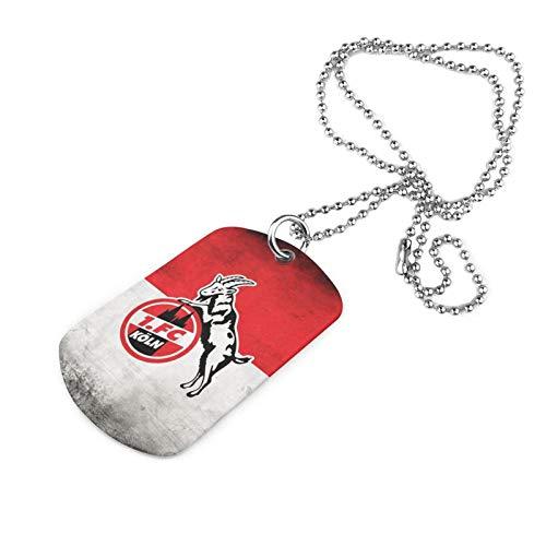 Y Y Y 1.-Fc Ko-Ln Armee Marke Halskette Druck Halskette Eisen Halskette Trend Mode