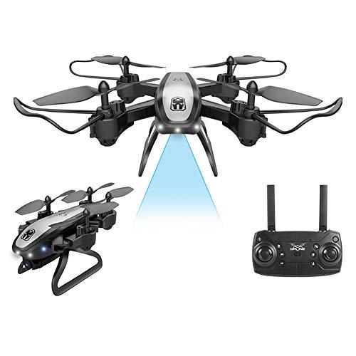 YHM Photographie Aérienne Haute Définition 4K UAV, Positionnement GPS, Distance De Contrôle De 300 Mètres, Adaptée Aux Débutants Et Aux Enfants