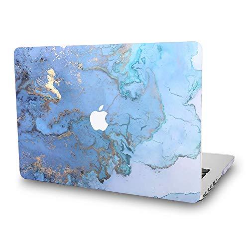 Capa para MacBook Pro 13 da Entweg, capa protetora para laptop revestida de borracha super fina para MacBook Pro de 13 polegadas modelo A1278 padrão cenário