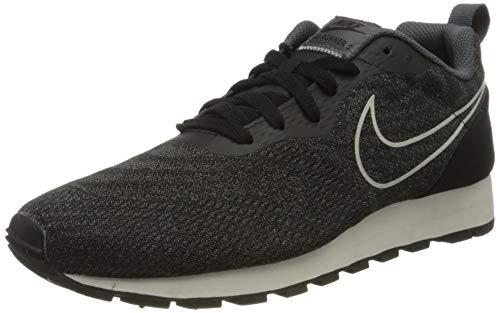 Nike Herren MD Runner 2 Eng Mesh 916774-002 Gymnastikschuhe, Schwarz (Black/Black/dk Grey/sail), 42.5 EU