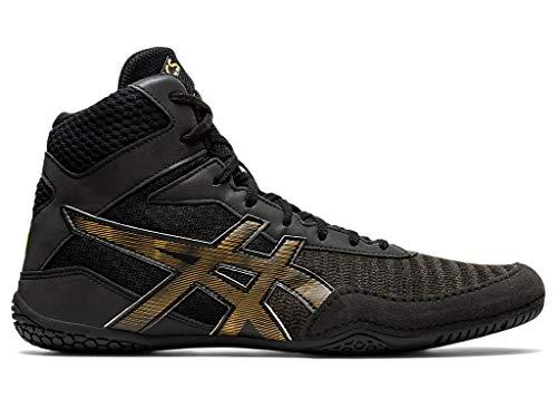 ASICS Men's Matcontrol 2 L.E. Lite-Show Wrestling Shoes, 10, Black/Pure Gold