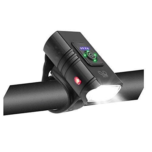 FFCVTDXIA Bicycle Light Bike Front Light Bicycle LED Recargable MTB Faro de la Carretera