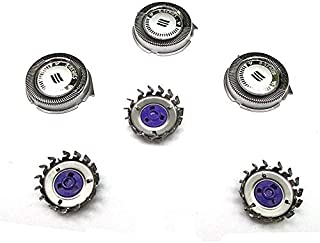 P-BladezTM Replacement For HQ8 3X Shaver Head For Philips Norelco 7310XL 7315XL 7325XL 7340XL 7345XL 7350XL
