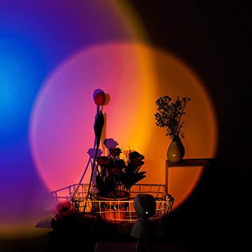 DXFK.AM Robot Projecteur Lampe Night Light Projection Chambre À Coucher Décoration Murale Projection Lampe Cafe Cafe Lighting Indoor Lighting