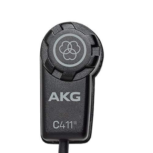 AKG Pro Audio C411/PP vibración Pickup para Instrumentos de Cuerda