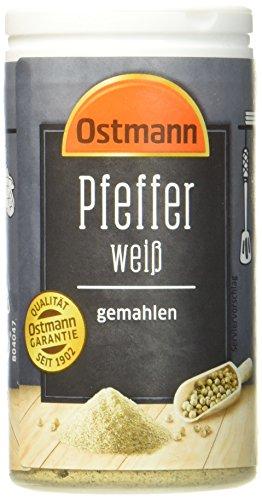 Ostmann Pfeffer weiß gemahlen, 45 g