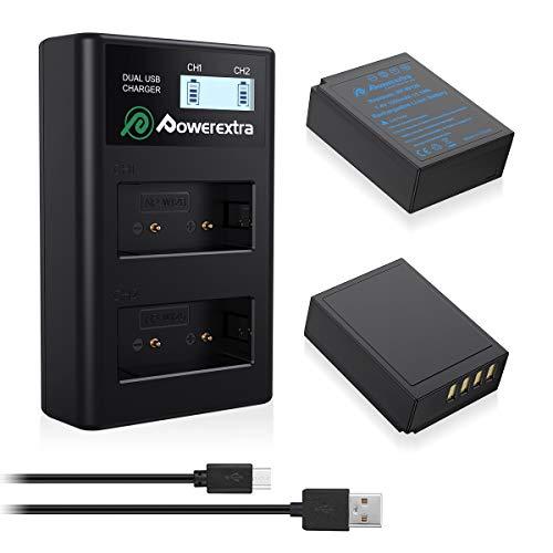 Powerextra Reemplazo 2 X Baterías para Fujifilm NP-W126 NP-W126S (1500mAh) FinePix HS30EXR HS33EX X100F X-A5 X-A10 X-E3 X-H1 X-M1 X-Pro1 X-Pro2 X-T1 X-T2 X-T3 X-T10 X-T20 X-T30 X-T100