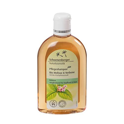 Schoenenberger Naturkosmetik Pflegeshampoo plus Bio Melisse & Verbene, 1er Pack (1 x 250 ml)