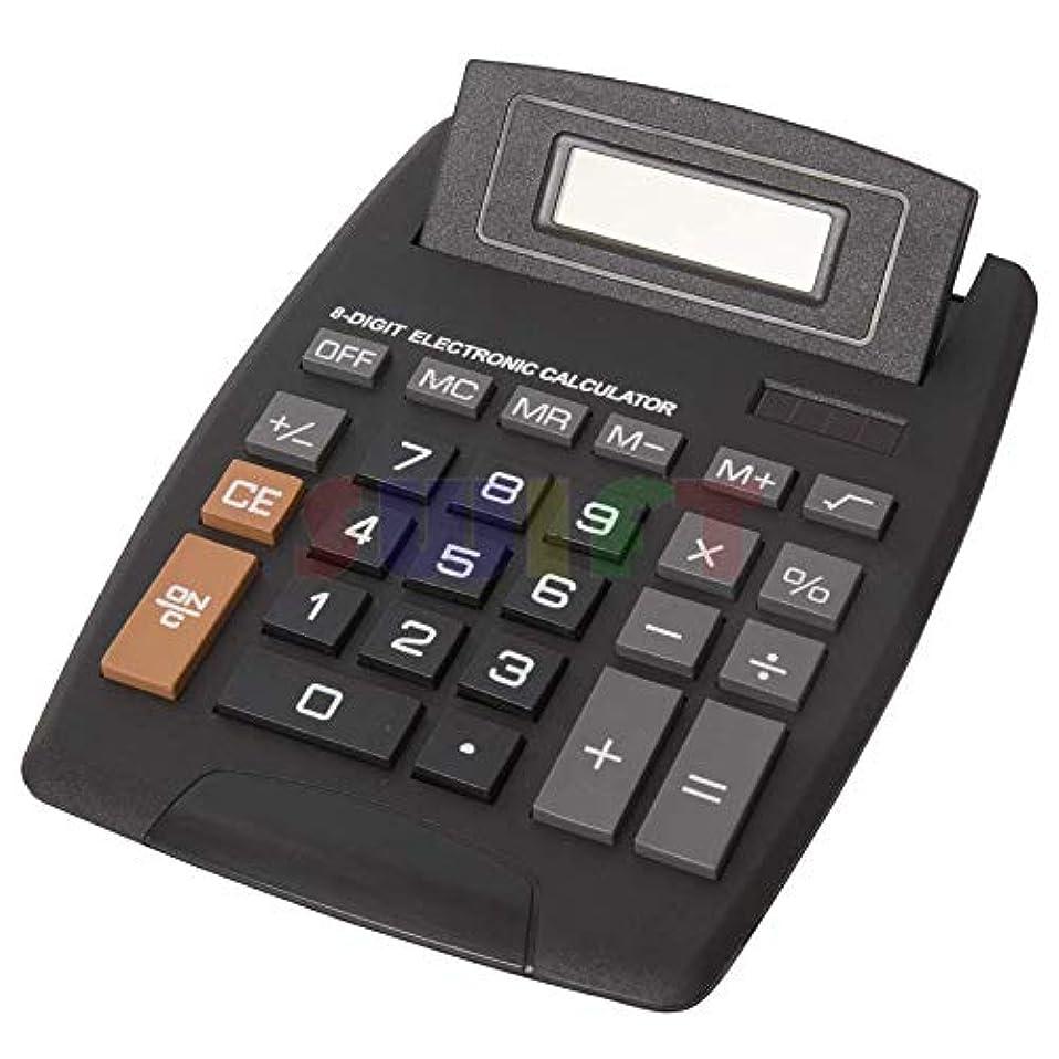 制限考案するスポークスマンデスクトップ電卓 8桁 オフィサー ビジネス ホーム スタンダード ソーラー 大きなディスプレイ
