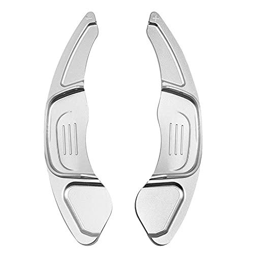 Gfyuan para VW Golf 7 2015-2017 20182019 GTI R MK7 Scirocco Estilo de Coche 2 uds Cambio de Volante de Aluminio de Coche Paleta de Cambio