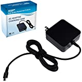 HQRP AC Adapter Charger Works with GoPro AWALC-002 Replacement fits Hero 5 6 7 Black White Silver Session Fusion Karma Grip, USB-C Cable Power Supply Cord Plus HQRP Euro Plug Adapter