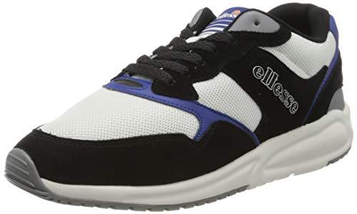 ellesse Nyc84, Zapatillas Hombre, Multicolor (Black/White/Dark Blue Black/Wht/Dk BLU), 39.5 EU
