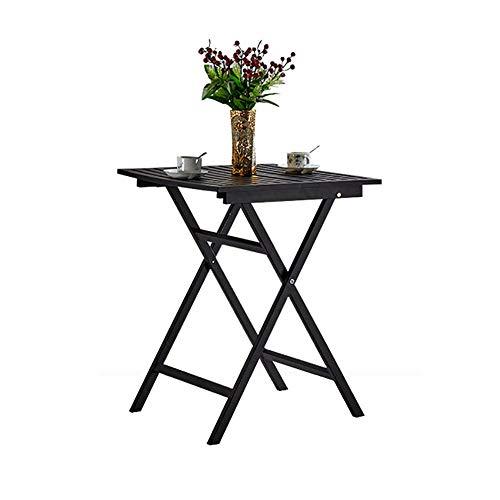 GWF grote metalen zware opvouwbare keuken eettafel stoelen balkon tuin zwart koffie & thee & computer bureau