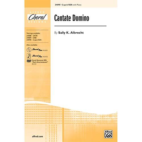 Alfred 00-24090 Cantate Domino - Libro de música