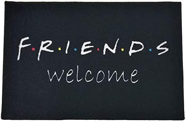 FloorMatShop Friends Welcome 2 X 3 Plush Nylon Indoor Doormat