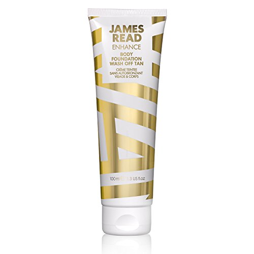 James Read Enhance leite autobronzeador de remoção fácil para rosto e corpo 100 ml