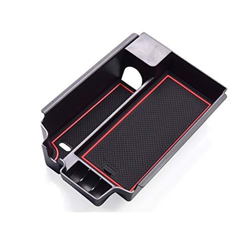 YCHCDR Autoaufbewahrungsbox Mittelkonsole Aufbewahrungsbox Tablett Armlehne Platte, Teile Auto Glove-Box Einführen Hilfsaufbewahrungsbehälter, geeignet for 5 Serie G30 G31 2017 2018