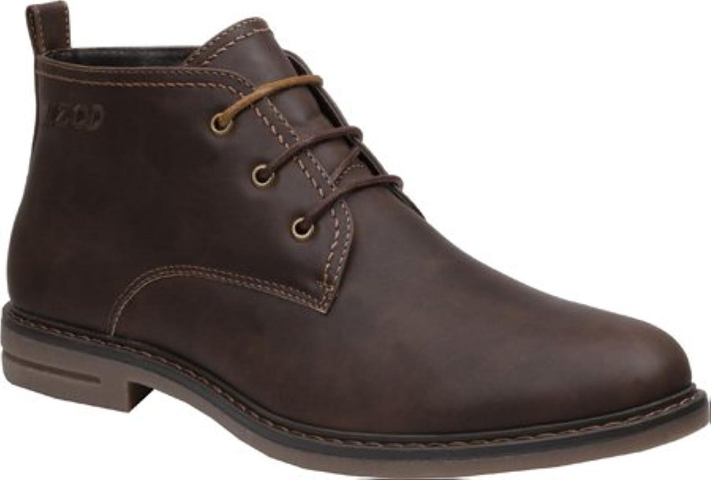 Izod Men's Cally Boot, Black, 7 M US