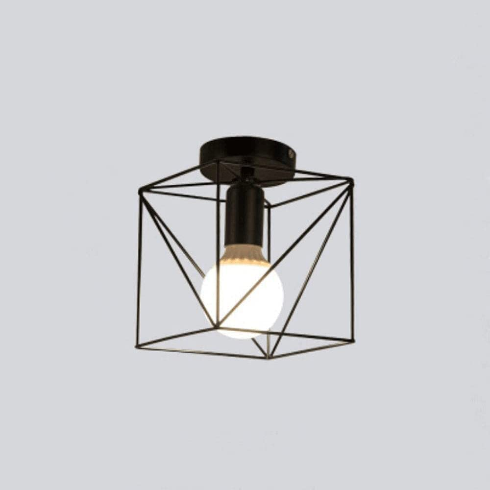 Portland Mall High quality CUILINGWAN Industrial Style Ceiling Lamp American Retro Iron Art