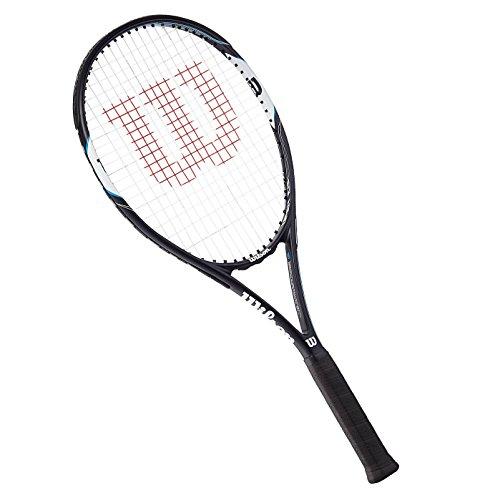 Wilson Tennisschläger Damen/Herren, All Courter, Freizeitspieler, Surge Open 103, Größe 3, Blau/Weiß