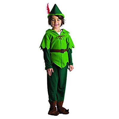 Dress Up America Peter Pan Costume - Size Medium 8-10